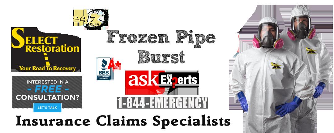 Frozen-Pipe-Burst-Pipes-Wayne-County MI